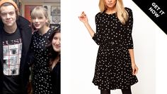 What Looks Better On Taylor Swift: Her $ 43 ASOS Dress Or Harry Styles?
