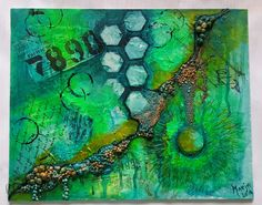Marja's Creativity (paintings, art journals etc): Mixed Media