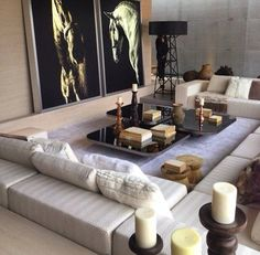 amazing livingroom decor! #decor #furniture #livingroom see more at http://memoir.pt/