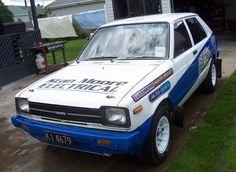 Starlet Rally Car