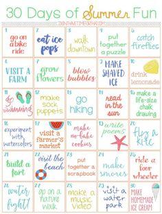 (2) Home / Twitter Summer Fun List, Summer Kids, Summer Bucket List For Teens, Babysitting Activities, Fun Activities, Challenge For Teens, Fun Challenges For Teens, Summer Holiday Activities, 30 Tag