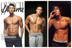 TOP 10 Korean Actors Who Shouldn't Wear Shirts... Like Ever