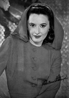 It's Barbara Stanwyck!