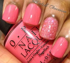 Polish Obsession: OPI - Elephantastic Pink