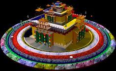 """Képtalálat a következőre: """"tibetan mandala"""" Tibetan Mandala, Tibetan Art, Tibetan Buddhism, Buddhist Art, Vajrayana Buddhism, Buddha Beads, Tantra, Mythical Creatures, Sacred Geometry"""