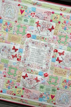 spend each day in the garden...quilt