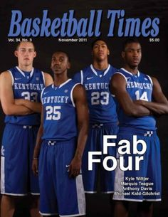 Anthony Davis won another National Player of the Year award, this time from the Basketball Times publication. Kentucky Athletics, Kentucky Wildcats, Kentucky Derby, Wildcats Basketball, Kentucky Basketball, Ncaa College, College Fun, College Basketball