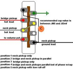 wiring an import 5 way switch guitar mod ideas pinterest rh pinterest com