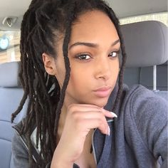Thinking about doing dreads. Not the shaggy hippie looking ones, the more traditional full ones. They look super cute! Curly Hair Styles, Natural Hair Styles, Locs Styles, Beautiful Dreadlocks, Pretty Dreads, Dreadlock Hairstyles, Natural Hair Inspiration, African American Hairstyles, Black Girls Hairstyles