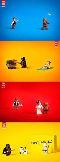 LEGO Star Wars Ads