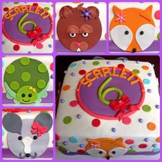 Too Sweeties Bake Shoppe... Petting Zoo party cake
