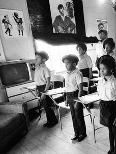Black Panther Party Liberation School in Oakland, California, 1968.  Photo courtesy of Victor Houston
