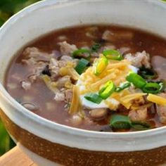Laura's Quick Slow Cooker Turkey Chili Recipe - Allrecipes.com  1 tablespoon vegetable oil 1 pound ground turkey 2 (10.75 ounce) cans low sodium tomato soup 2 (15 ounce) cans kidney beans, drained 1 (15 ounce) can black beans, drained 1/2 medium onion, chopped 2 tablespoons chili powder 1 teaspoon red pepper flakes 1/2 tablespoon garlic powder 1/2 tablespoon ground cumin 1 pinch ground black pepper 1 pinch ground allspice salt to taste