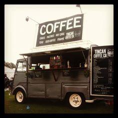 Tincan coffee co Citroen H van coffee truck VanWest 2012