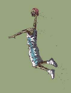 NBA and The Walking Dead all rolled into one