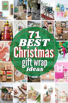 Here are the 71 BEST Christmas Gift Wrapping Ideas around! From merry & bright to rustic & refined, there are gorgeous gift wrap ideas for everyone on your list this holiday season. Some of these gift wrappings are a gift unto themselves! #christmas #giftwrapideas #wrappingideas #christmaswrappingideas #giftwrap #giftwrapping #christmasgiftwrapideas Handmade Christmas Gifts, Christmas Gift Wrapping, Best Christmas Gifts, Homemade Christmas, Holiday Crafts, Christmas Crafts, Christmas Decorations, Christmas Recipes, Christmas Time
