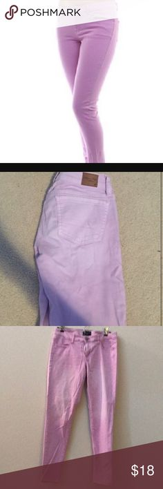 American Eagle pale purple jeggings like new 8 Perfect condition American Eagle Outfitters Jeans Skinny