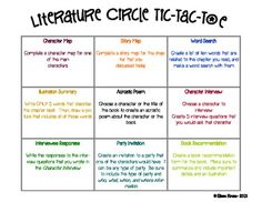 Literature Circle Activity Set-Complete w/ activities, directions, rubric, more - Keep Calm and Teach