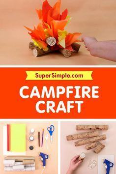 Diy Home Crafts, Craft Stick Crafts, Preschool Crafts, Crafts To Make, Paper Crafts, Preschool Ideas, Summer Crafts For Kids, Diy For Kids, Recycled Crafts Kids