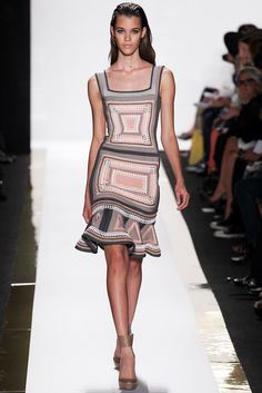 Hervé Léger by Max Azria Spring 2014 Ready-to-Wear Fashion Show