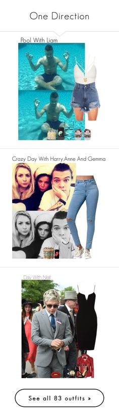 """""""One Direction"""" by ixssa ❤ liked on Polyvore featuring Payne, Topshop, adidas Originals, Tai, With Love From CA, Bullhead Denim Co., Chicnova Fashion, Gucci, MICHAEL Michael Kors and Lime Crime"""