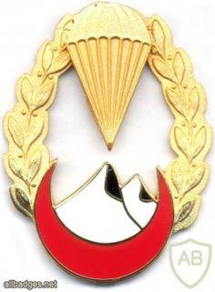 ALGERIA 4th Para-Commando Regt (4 RPC) Breast insignia, BOMISA MILANO, 1962