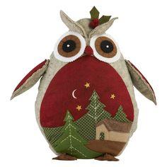 Christmas Owl Door Stop   The Range