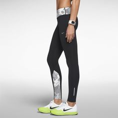 Nike Epic Luxe Nylon Printed Women's Running Tights