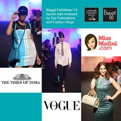 The launch of Baggit Autumn/Winter'15 Collection at Lakme Fashion Week was a smash hit & we received some lovely coverage and some glowing reviews from many of India's prominent newspapers, magazines and fashion blogs.#PlayTheLifeGame #AW15