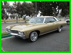 Chevrolet: Impala 1967 chevrolet impala used automatic convertible chevy