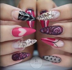 BEST NEW YEAR'S NAIL ART DESIGNS 2017 - Reny styles