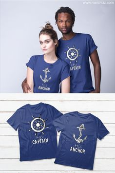 Her Captain His Anchor Cruise Couple Shirts #coupleshirts #coupleshirtsmatching #couplematchingoutfits #coupleoutfits #couplesshirts #hisandhers #couplegift #valentineshirts #valentinegifts #captain #anchor
