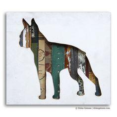 Boston Terrier Pet Dog Art
