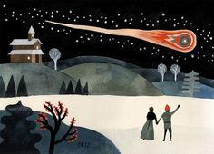 Fiery Comet by Carson Ellis