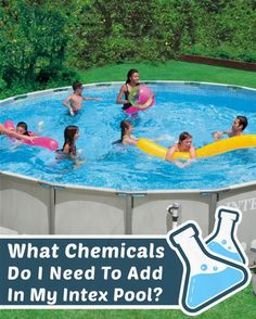 The first thing you need to remember when you buy an Intex pool is that it must be cared for just like any other pool.  Your new pool will need a proper pump and filter depending on its size and you will need to carefully manage the pH levels and chlorine in the pool to be sure your water quality is always top notch.  If any of these chemical levels are off, algae can grow in your pool turning it green or your water could simply appear cloudy because the chemicals are not properly balanced.