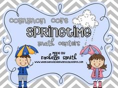 This packet of 13 springtime math centers are perfect for March, April and May. They align with the Common Core Math Standards for 1st grade, but w...