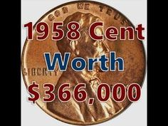 Top 4 Lincoln Cents Worth Thousands Found In Change Valuable Pennies, Rare Pennies, Valuable Coins, Old Coins Worth Money, Old Money, Silver Coins Worth, Old Coins Value, Penny Values, Wheat Pennies