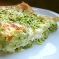 Lasagne zucchine e stracchino