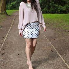T&j Designs Sequin Polka Dot Mini T&j Designs Sequin Polka Dot Mini T&J Designs Skirts Mini