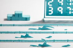 Just in time for the summer Olympics! Terada Mokei (previously), whose succesful architectural paper model series has spawned dozens of reincarnations, just announced their latest: competitive swimming architectural models