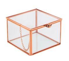 GLASS BOX: SVENSKA HEM I love rose gold