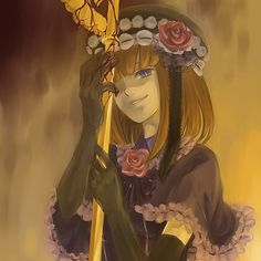 anime, blood, eva-beatrice, evatrice, rose, umineko
