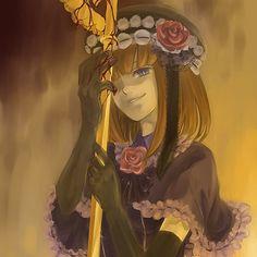 anime, blood, eva-beatrice, evatrice, rose, umineko