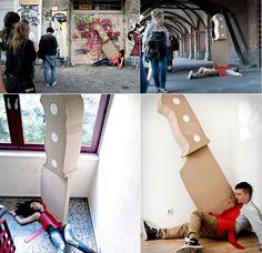 The Knife    /Projeto dos artistas Maria Luján e Wolfgang Krug (http://www.marialujan.es/ - http://www.st-olaf.com/)    Imagem via Brainstorm #9