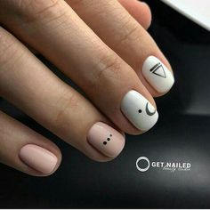 April 20 2020 at nails Nails Only, Love Nails, Pretty Nails, Nail Manicure, Diy Nails, Minimalist Nails, Short Nails Art, Cute Acrylic Nails, Square Nails