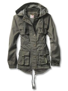 This is kind of like the lady-version of a Dean Winchester jacket.