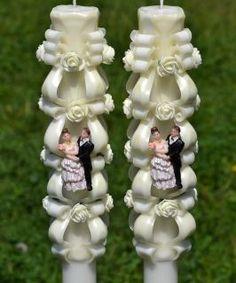 Lumanare de nunta sculptata LN 602 D36x90 Candles, Christmas Ornaments, Holiday Decor, Home Decor, Decoration Home, Room Decor, Christmas Jewelry, Candy, Candle Sticks