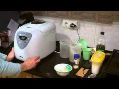 ▶ Pan de ajo y oregano en panificadora - YouTube