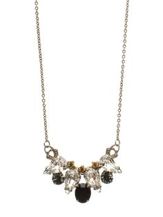 Center of Attention Pendant Necklace in Evening Moon - Sorrelli