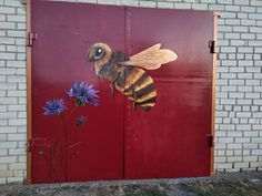 Bee, My Arts, Wall Art, Animals, Painting, Animales, Animaux, Painting Art, Bees